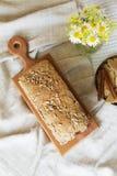 面包面包店产品 免版税图库摄影