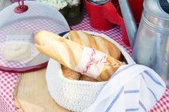 面包面包店产品 免版税库存图片