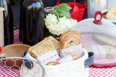 面包面包店产品 图库摄影