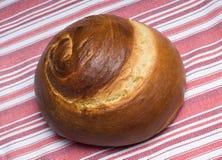 面包鸡蛋面包螺旋 免版税图库摄影