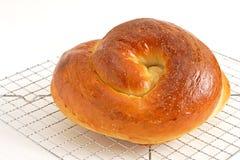 面包鸡蛋面包 免版税库存图片