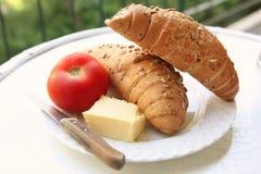 面包黄油法语 免版税库存图片