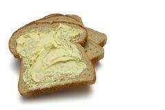 面包黄油 免版税库存照片