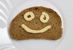 面包黄油 免版税库存图片