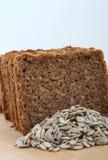 面包黑麦切了 免版税图库摄影