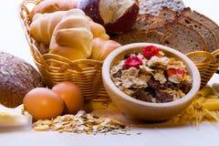 面包,谷物厂,面团 面包,谷物厂, 免版税库存照片