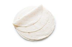 (面包)查出的传统阿兹里lavash 免版税库存图片