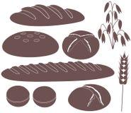 面包 向量例证