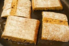 面包ciabatta意大利语 免版税库存图片
