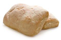 面包ciabatta意大利语 免版税图库摄影