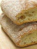 面包ciabatta 免版税库存图片