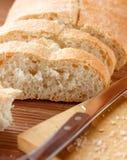 面包ciabatta 库存图片
