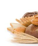 面包n白色 免版税库存图片
