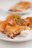 面团filo膳食传统蔬菜 库存照片