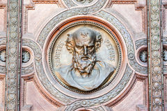 面孔布达佩斯匈牙利 免版税库存图片