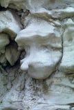 面对在幻想峡谷,犹他的形状的岩层 免版税库存图片
