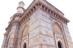 面对海孟买孟买印度的泰姬陵旅馆 免版税图库摄影