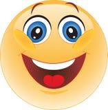 面带笑容。 微笑。 幸福。 向量例证