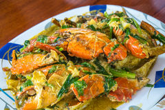 面条海鲜辣泰国 库存图片