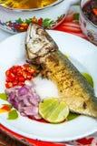 面条海鲜辣泰国 库存照片