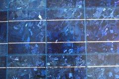 面板光致电压太阳 免版税库存照片