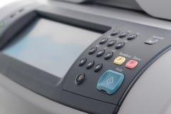 面板打印机 免版税库存照片