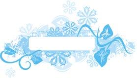 面板系列冬天 免版税库存照片