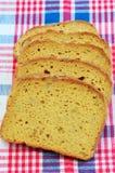 面筋免费向日葵种子面包 库存图片