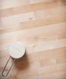 面筋自由面粉背景 免版税图库摄影