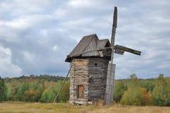 面粉加工厂,风车,乌克兰,风景 图库摄影