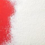 面粉背景 免版税库存图片