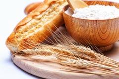 面粉麦子 免版税库存照片