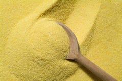 面粉mais 库存图片