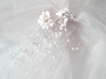 面纱婚礼 免版税库存照片