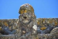 面貌古怪的人在基督, Tomar,葡萄牙等级的女修道院, 库存图片
