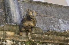 面貌古怪的人在基督, Tomar,葡萄牙等级的女修道院, 免版税库存照片