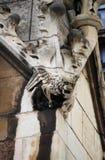 面貌古怪的人在威斯敏斯特宫殿 免版税图库摄影