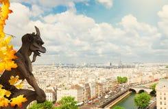巴黎面貌古怪的人 图库摄影