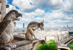 巴黎面貌古怪的人 免版税库存图片