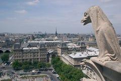 面貌古怪的人Notre巴黎Damme  免版税库存图片