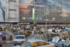 革命在乌克兰。EuroMaidan。 图库摄影