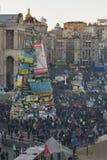 革命在乌克兰。EuroMaidan。 库存照片