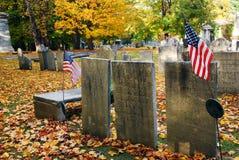 革命战争坟墓 库存图片