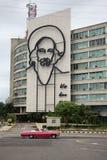 革命方形的古巴 免版税图库摄影