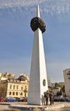 革命方形陵墓 库存照片