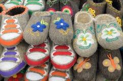 鞋子为冬天 免版税图库摄影