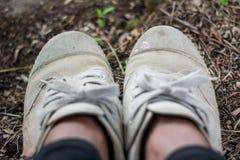 鞋子也是夫妇 库存照片