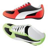 鞋子体育运动 库存例证