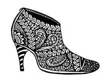鞋子例证 库存图片