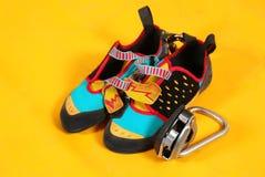 鞋子和马枪 免版税库存图片